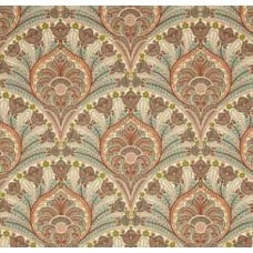 Crescent Beach in Coral by Tommy Bahama Outdoor Fabric