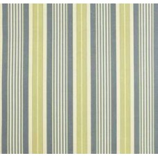REMNANT - Long Hill Stripe in Chambray Outdoor Fabric by Waverly