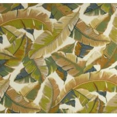Resort Palm Leaf in Sand Outdoor Fabric