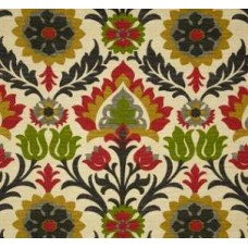 Santa Maria Flowers in the Desert Jewel Outdoor Fabric by Waverly
