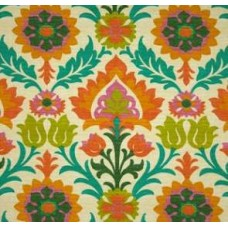 Santa Maria Flowers in the Desert Mimosa Outdoor Fabric by Waverly