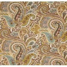 A Paisley Dream in Chocolate Home Decor Fabric
