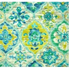Ali Baba Carribean Blue Outdoor Fabric