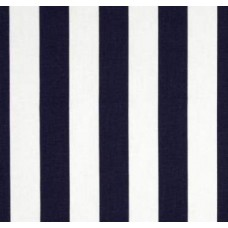 Canopy Stripe in Navy Blue Home Decor Cotton Fabric