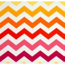 Chevron Sunshine Stripe Cotton Fabric by Micheal Miller