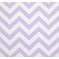 Chevron Zig Zag in Mauve Wisteria Home Decor Cotton