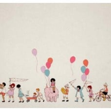 Children at Play Cotton Fabric by Michael Miller