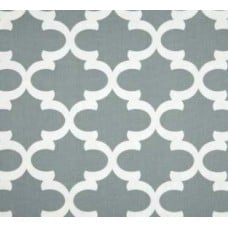 Fyn Cadet Grey Home Decor Cotton Fabric