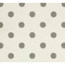 Grey Storm Dots Home Decor Cotton Fabric