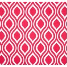 Hey Nicole in Candy Pink Home Decor Cotton Fabric