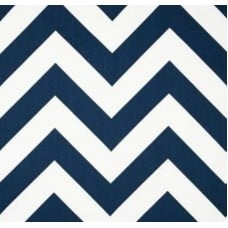 Jumbo Chevron in Navy Home Decor Cotton Fabric