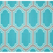 REMNANT - Ocean Glass Blue Outdoor Fabric