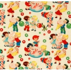 Retro Candy Shop Home Decor Cotton Fabric Multi by Michael Miller