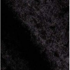Stretch Velvet Fabric in Black