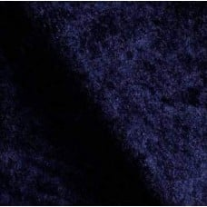 Stretch Velvet Fabric in Dark Navy Blue