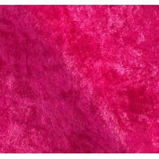 Stretch Velvet Fabric in Fuchsia
