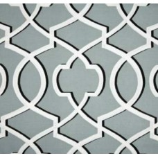 Tomorrow's Gate in Grey Home Decor Cotton Fabric