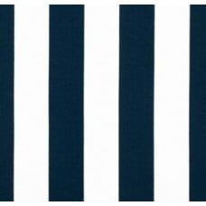 Wide Stripe in Navy Outdoor Fabric