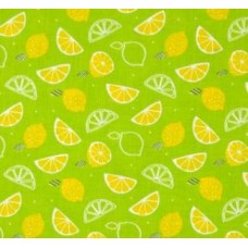Scented Fabric Lemon Zest in Green
