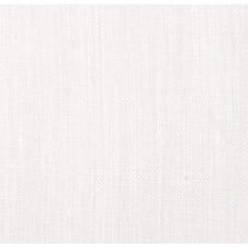 100% Luxe Linen Medium Weight White