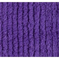 REMNANT - Thick Chenille in Deep Purple