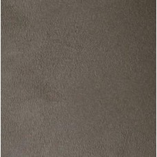 REMNANT - Smokey Grey Velvet Fabric 100% Cotton