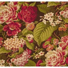 REMNANT - Floral Flourish Cordial Home Decor Fabric by Waverly