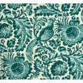 Tuckers Daughter Resist Teal Linen Blend Fabric